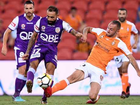 Ivan Franjic should be back to tackle the Glory. Picture: Getty Images