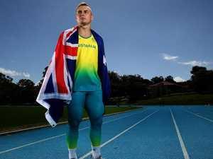 Australia's fastest man had eyes for NRL