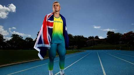 Australia's fastest man Trae Williams will fly the flag for the home nation in the 100m sprint. Pic Adam Head