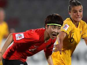 Matildas left a little unnerved after Asian Cup opener