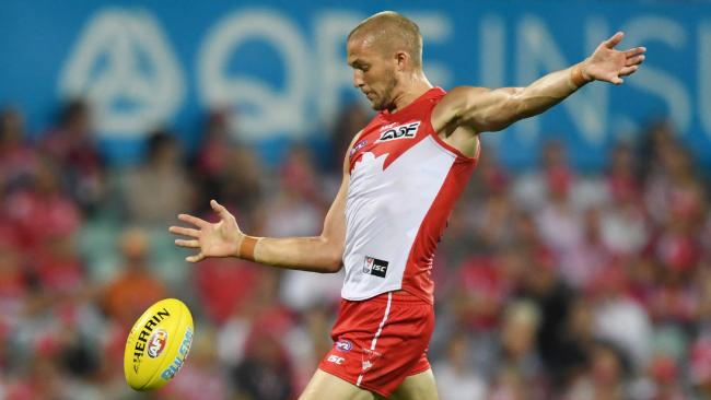 Sam Reid was terrific before a late injury. Pic: AAP