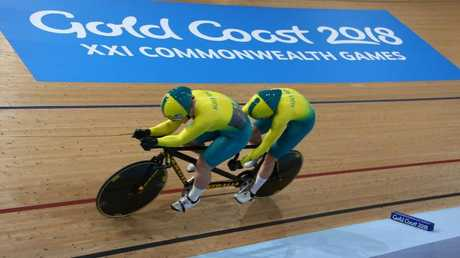 Edgar has been the Australian cycling team's secret weapon on the Gold Coast.
