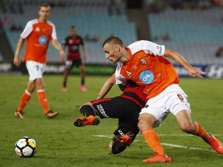 Aloisi is looking for a reaction from the Roar after their loss. Picture: Getty Images