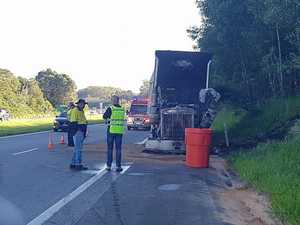Highway reopens after truck fire caused serious delays