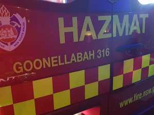 Hazmat crews rush to chemical incident at G'bah