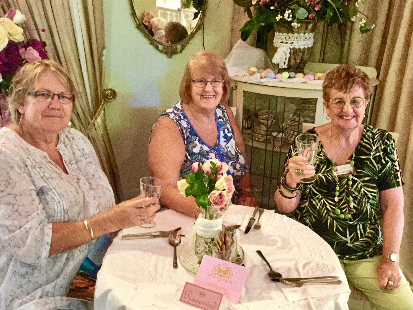 DELIGHTFUL: Sorrento Probus members, recently enjoyed lunch at the beautiful Flutterbies Cafe in Tyalgum , NSW.