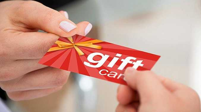 LONGER LIFE: Gift cards in NSW now must have a mandatory three year expiry date.