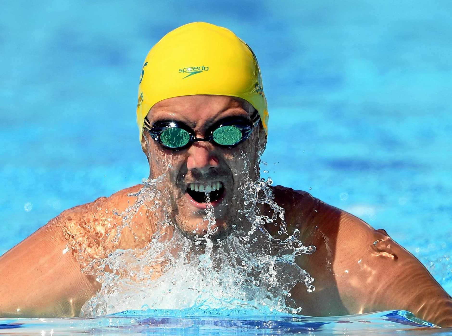 MEDALLIST: Blake Cochrane in action during the Commonwealth Games.