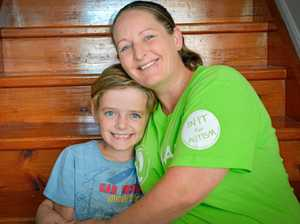 Why this mum is taking 80,000 steps for her son