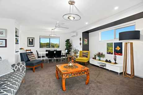The Boronia St townhouse has had a stylish makeover