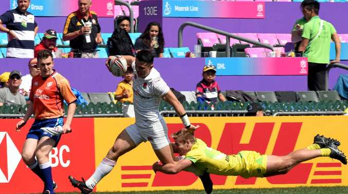 Australia's hopes took a dive at the Hong Kong Sevens tournament.