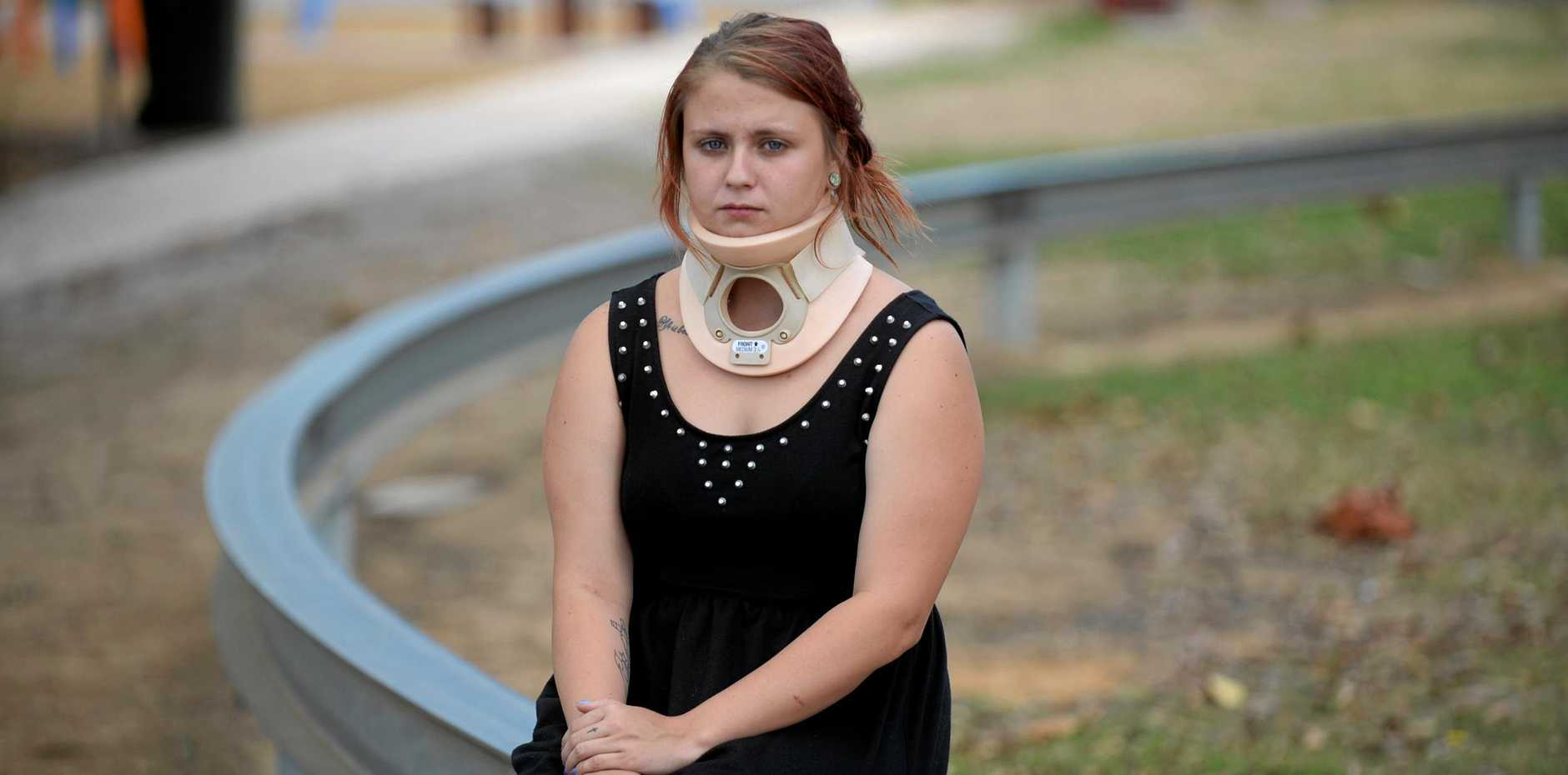LAWSUIT: The NewsMail reported on Kristina Bishop's fall from the monorail at Boreham Park in 2014.