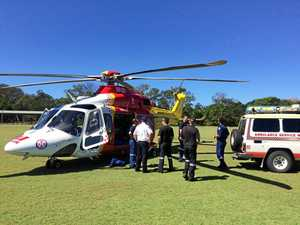 Woman flown to hospital after beach horse accident
