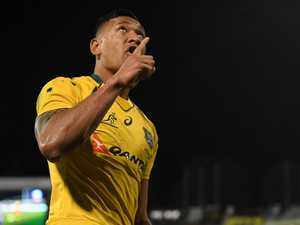 'Persecuted' Folau's cryptic posts amid backlash