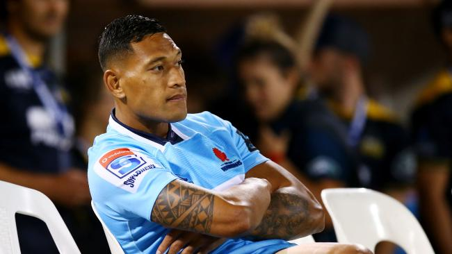 Israel Folau is standing by his anti-gay comments.