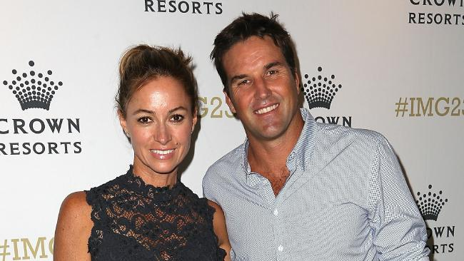 Pat Rafter and his wife Lara Feltham decided to not play the waiting game and instead accepted a multimillion-dollar figure for their QLD beach house. Picture: Graham Denholm/Getty Images.