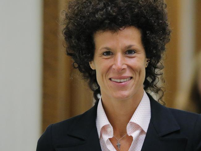 Andrea Constand, 44, will repeat her allegations Mr Cosby drugged and molested her after they met at his alma mater in early 2004. Picture: Lucas Jackson/Pool Photo via AP, File