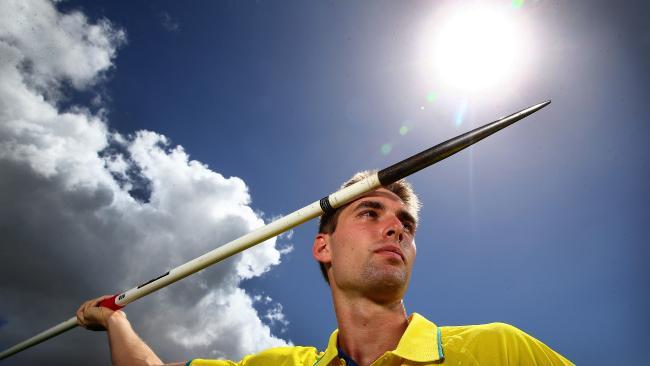 Cedric Dubler is a strong medal hope in the decathlon. Pics Adam Head