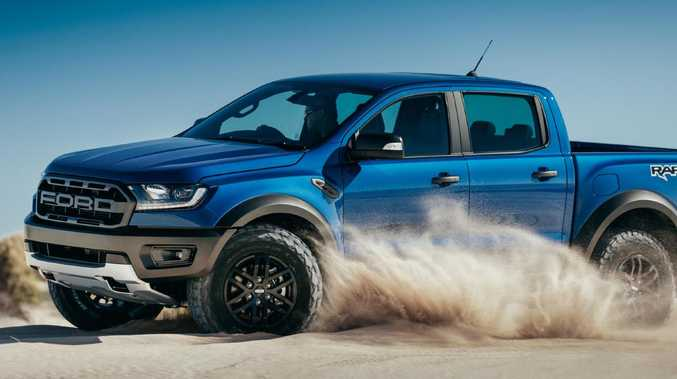 The Ford Ranger Raptor will cost in excess of $75,000 when it goes on sale mid-year, making it the most expensive ute in its class — for now. Picture: Supplied.