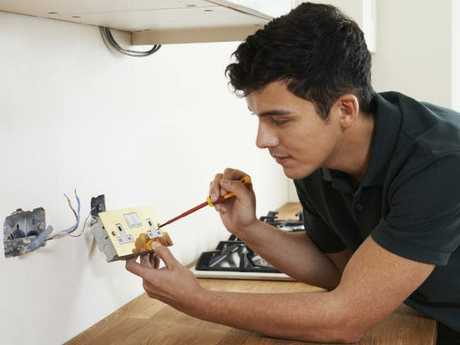 """""""Electrician"""" also made the top 10 search terms on SEEK. Picture: iStock"""