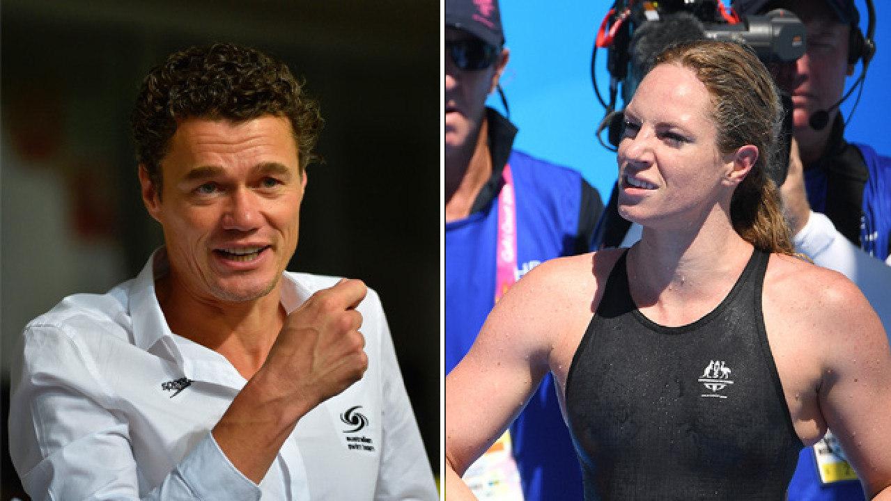 Swimming Australia head coach Jacco Verhaeren has some advice from Emily Seebohm.