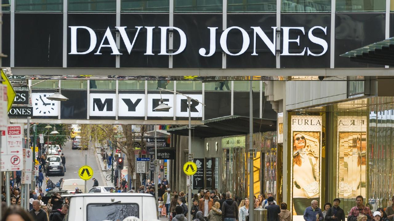 Bitter rivals. But now there are rumours David Jones is set to pounce on Myer. Picture: iStock.