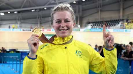 Stephanie Morton won three gold medals and said the changes at Cycling Australia had made an impact in a short space of time. Picture: Scott Barbour (Getty).