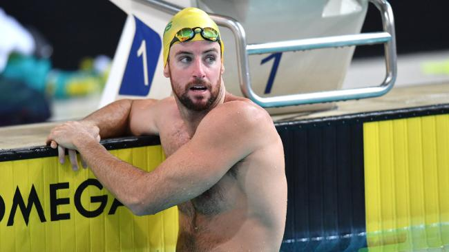 James Magnussen preparing for what may be his grand finale. Picture: AAP