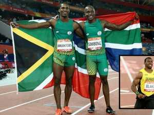 South African duo stun Yohan in 100m final