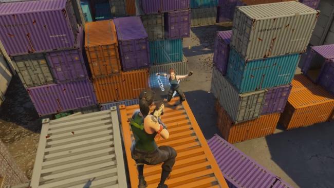 Screen shot from Fortnite: Battle Royale.
