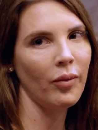 Tracey was mocked by viewers for her enhanced face.