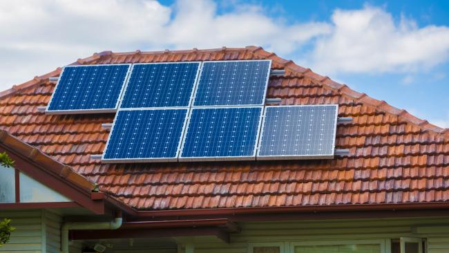 More families are converting to solar power to reduce energy costs.
