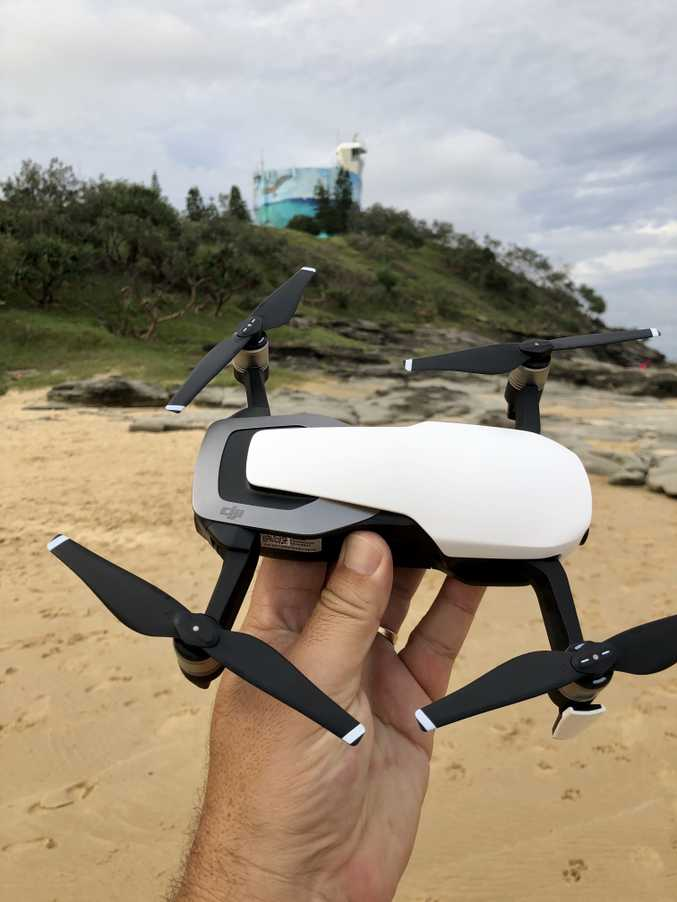 DJI's Mavic Air fits in your hand.