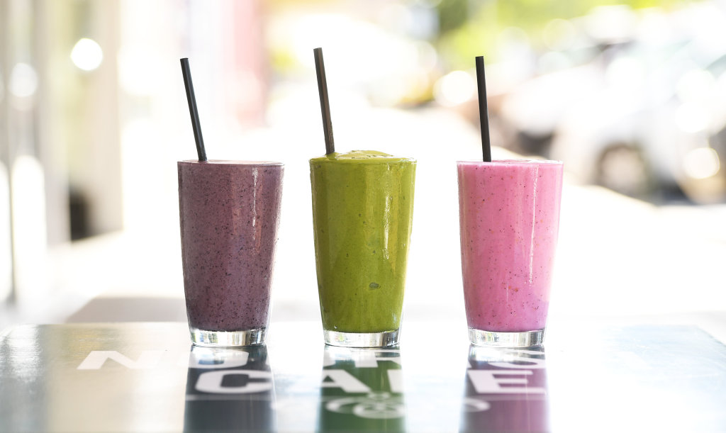 Smoothies can be a healthy option if they are small, and made of only a few ingredients.