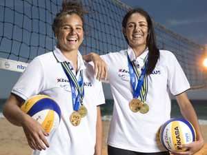 Kingaroy volleyball star inches closer to Games gold