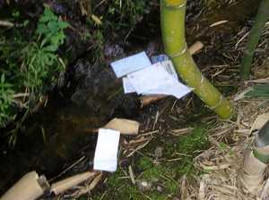 Coast mail stolen, discarded in stormwater drain