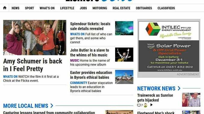 Lismore Echo launches new-look website