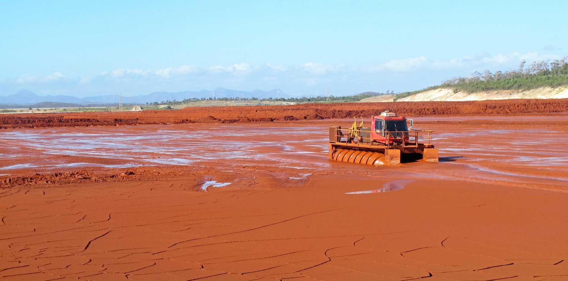 Red Mud Dam.