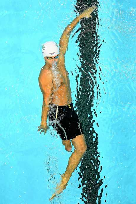 Logan Powell will dive into the S9 100m backstroke at the Commonwealth Games