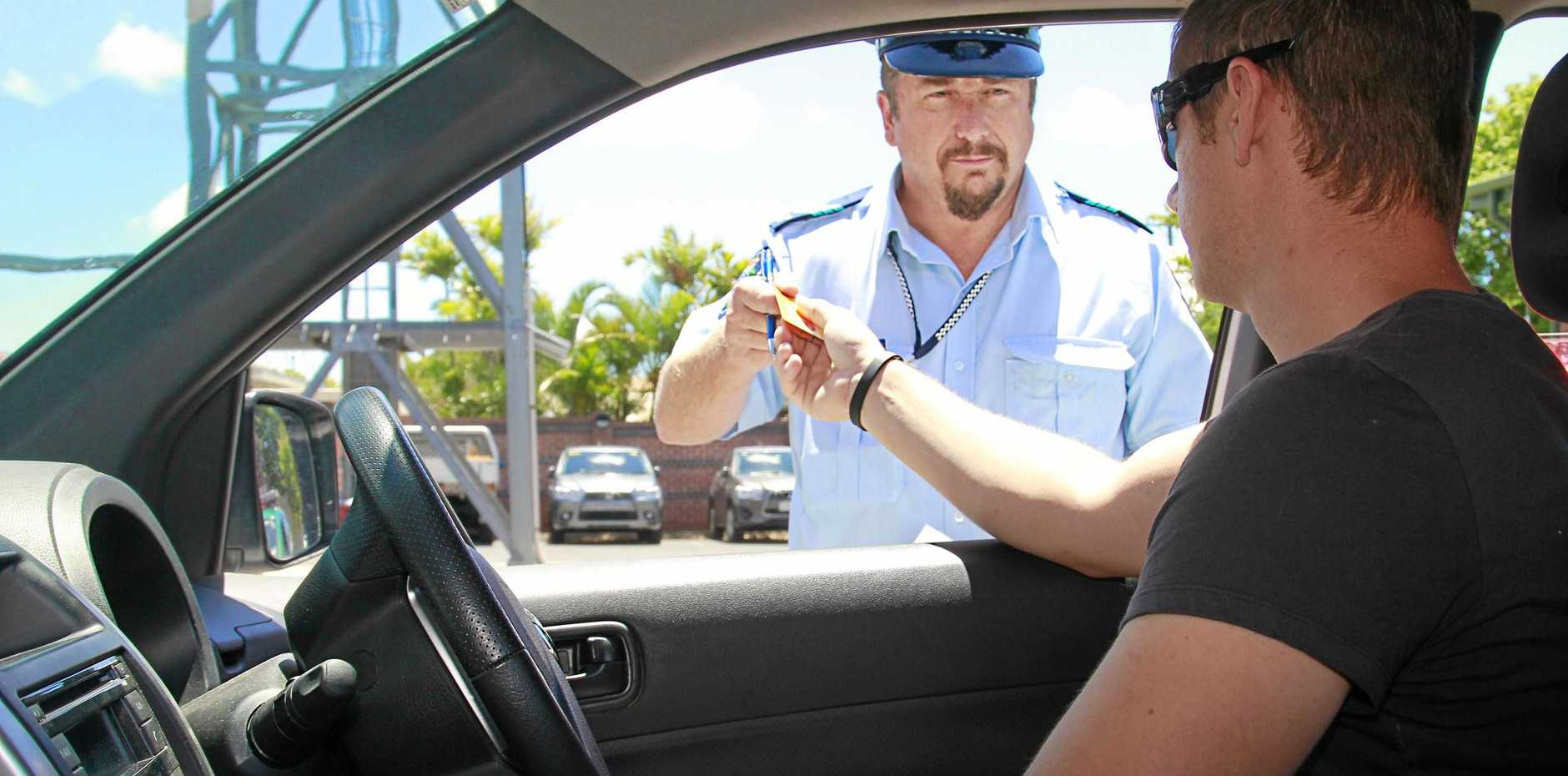An unknown, unpaid fine was behind man's work licence fail (image used is a stock photo).