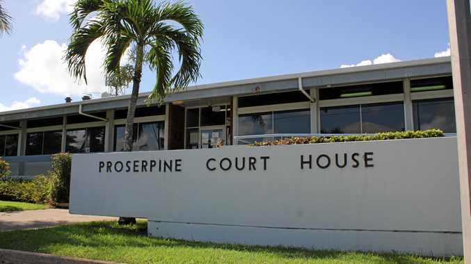 IN CUSTODY: A man accused of strangulation, breaking a protection order and wilful damage was denied bail at Proserpine Court House on Monday.