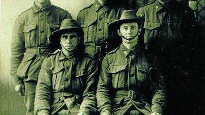 WAR HEROES: Warren and Judy Martin will honour their family's war efforts, including those of Warren's grandfather Henry Martin, when they travel to France today.