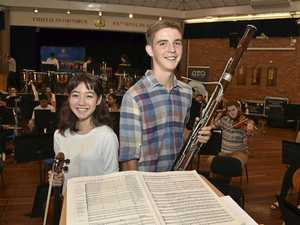 Youth orchestra in Toowoomba for workshop