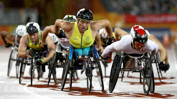 Australia's Kurt Fearnley will retire from competition after the Gold Coast Games.