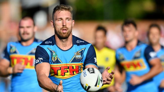 Bryce Cartwright will line up for the Titans against his former Panthers teammates.