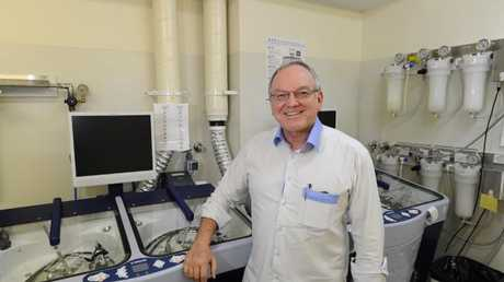 Professor Thomas Borody says he needs more donors. Picture: News Limited