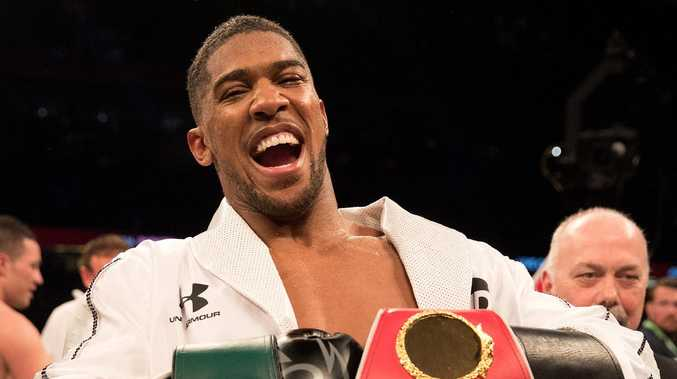 Anthony Joshua will take on Deontay Wilder. Picture: Getty Images
