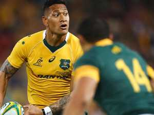 'That's hate speech': Bozza's serve for Folau