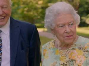 Trump, Obama, mortality: Queen's jokes light up TV special