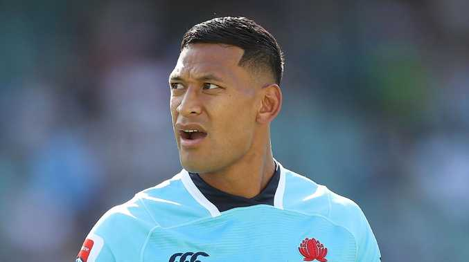 Israel Folau faced Rugby Australia bosses on Tuesday regarding his religious beliefs..